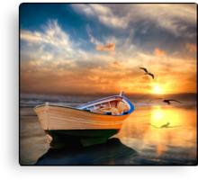Pacific Sunset 12b Canvas Print