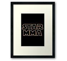 STAR MMA Framed Print