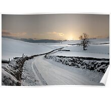 Winter In Winterburn Poster