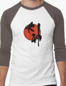 Okami Logo Men's Baseball ¾ T-Shirt