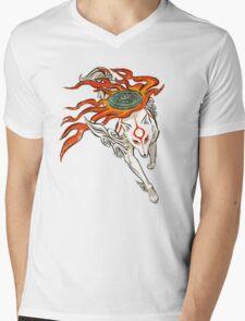 Amaterasu Mens V-Neck T-Shirt