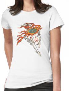 Amaterasu Womens Fitted T-Shirt