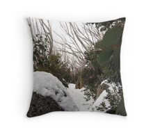 Mount Buffalo  Throw Pillow