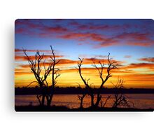 Yangebup Lake - Western Australia  Canvas Print