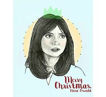 Merry Christmas, Clara Oswald Photographic Print