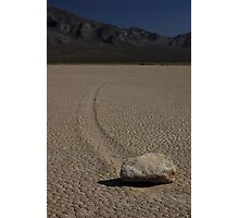 Racetrack Playa in Death Valley Park Photographic Print