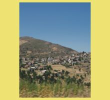 a beautiful Algeria landscape One Piece - Short Sleeve