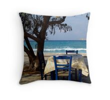 place in the shade Throw Pillow