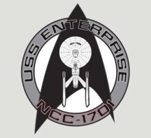 USS Enterprise Logo - Star Trek - NCC 1701 (movie) by createdezign