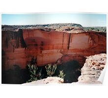 Cliff Face, Kings Canyon Poster