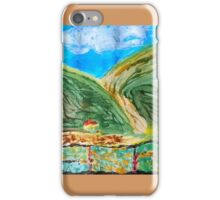 Green and rolling hills iPhone Case/Skin