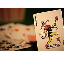 Always the Joker #1 Photographic Print