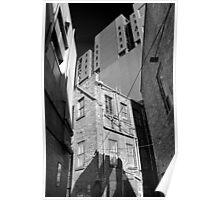Five Buildings Poster