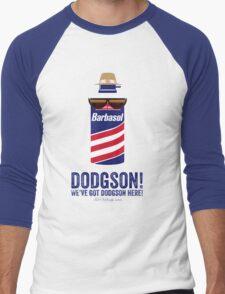 Jurassic Park - Dodgson Print Men's Baseball ¾ T-Shirt