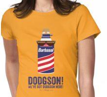 Jurassic Park - Dodgson Print Womens Fitted T-Shirt