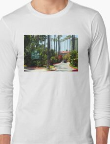 Beverly Hills Hotel California Long Sleeve T-Shirt
