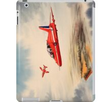 Bae Hawk T1a- The Red Arrows iPad Case/Skin