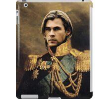 Thor Chris Hemsworth old fashioned vintage portrait 2 iPad Case/Skin