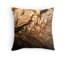 Wet Cave Throw Pillow