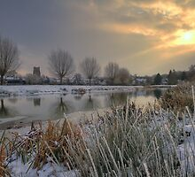 Frozen Suffolk by AntonyB