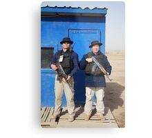 Gherka Guards in Iraq Metal Print