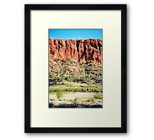 Glen Helen Framed Print