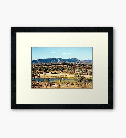 Finke River Framed Print