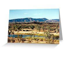 Finke River Greeting Card