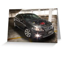 Ford G6E Turbo Greeting Card