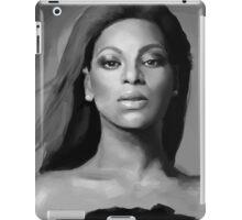 Beyoncé black and white portrait iPad Case/Skin