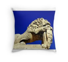 Guardian of the Gate Throw Pillow