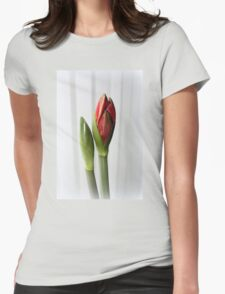 Amaryllis Womens Fitted T-Shirt