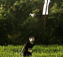 The Canggu Kite Flyer by wellman