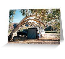 Finke Camping Greeting Card