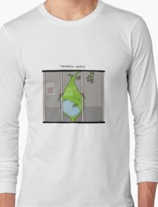 Trapped Nerve Long Sleeve T-Shirt