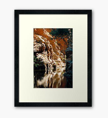 Ellery Creek Framed Print