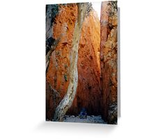 Standley Chasm Greeting Card