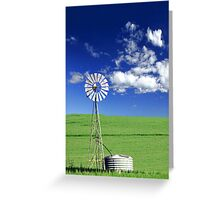 Farm Windmill  Greeting Card