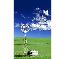 Farm Windmill  Photographic Print