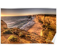 Say Amen ! - The Twelve Apostles Great Ocean Road - The HDR Experience  Poster