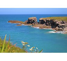 Summer Has Arrived In Cornwall Photographic Print