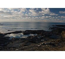 Rockpool sky Photographic Print