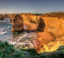Awe - Twelve Apostles , Great Ocean Road - The HDR Experience by Philip Johnson