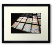 Shades of psychedelia Framed Print