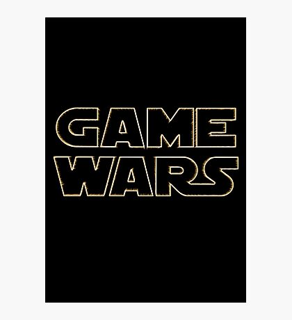 Game Wars Photographic Print