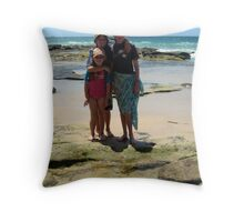 Madison, Jack and Jordan Throw Pillow