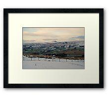 Slemish, St. Patrick- Ballyclare Framed Print