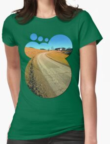 Springtime, road and countryside | landscape photography T-Shirt