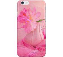 Old Fashion Pink Peony iPhone Case/Skin
