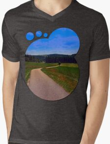 Yet another boring hiking trail picture | landscape photography T-Shirt